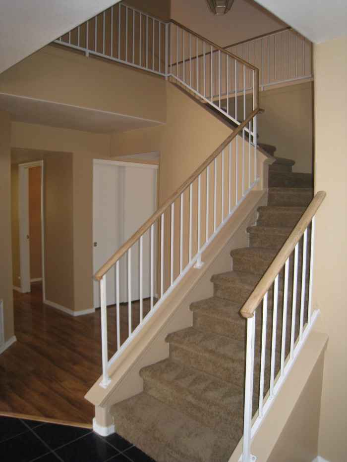 Stairs At The Entrance Door